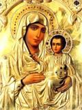 Όποιος έχει πολλή ευλάβεια στην Παναγία όταν προσκυνά την εικόνα Της έχει την αίσθηση ότι είναι η ίδια